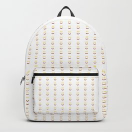 Bacon And Eggs Happy Face Backpack