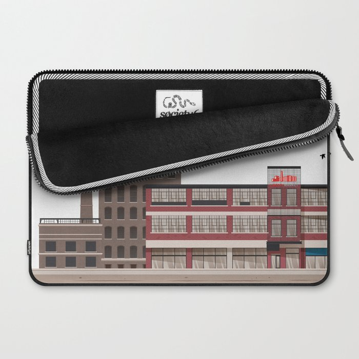 Liberty Village - Toronto Neighbourhood Laptop Sleeve