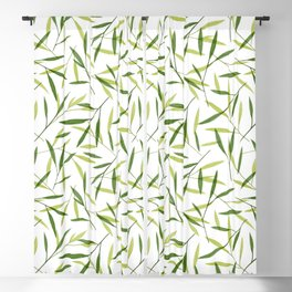 Bamboo Leaves 2 Blackout Curtain