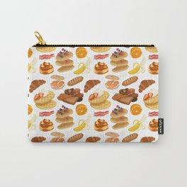 Breakfast pattern Carry-All Pouch