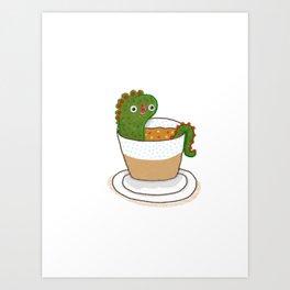 Soup Dragon Art Print