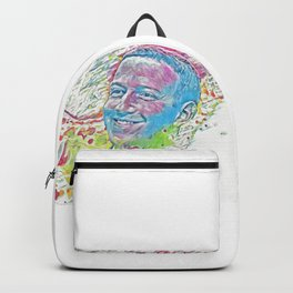 Mark Zuckerberg (Creative Illustration Art) Backpack