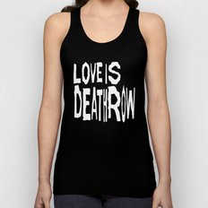 Love Is Deathrow Unisex Tank Top