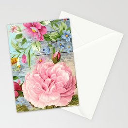 Vintage Flowers #6 Stationery Cards
