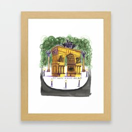 Soldiers and Sailors Arch Framed Art Print