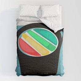 Rainbow in my Coffee Comforters