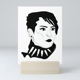 Lisbeth Salander Mini Art Print