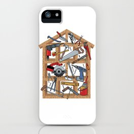 Home Construction iPhone Case