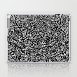 Zen Black and white Mandala Laptop & iPad Skin
