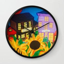 Midnight Sun Sanctuary/ Hotel California Wall Clock