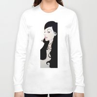 nouveau Long Sleeve T-shirts featuring NOUVEAU by michael newton