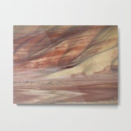 Hills Painted by Earth Minerals Metal Print