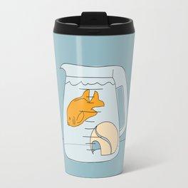 Coffee Pot Goldfish Travel Mug