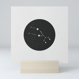 Taurus Zodiac Sign Constellation  Mini Art Print