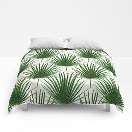 Simple Palm Leaf Geometry Comforters