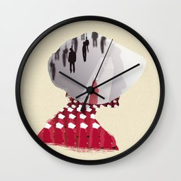 The Many Faces of TV: The Handmaids Tale Wall Clock