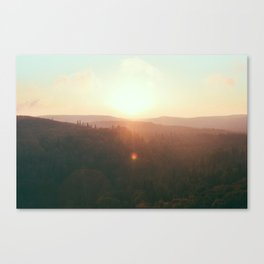 Northern Minnesota Sunsets Canvas Print