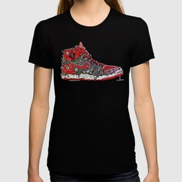 Infected Jordans T-shirt
