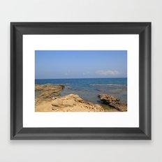 the Mediterranean  Framed Art Print