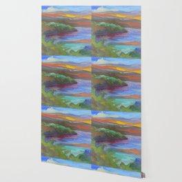 Mississippi Flow Wallpaper