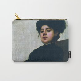 Ivan Kramskoi - Unknown Woman Carry-All Pouch