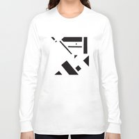broadway Long Sleeve T-shirts featuring 7av. Broadway by Michal Gorelick