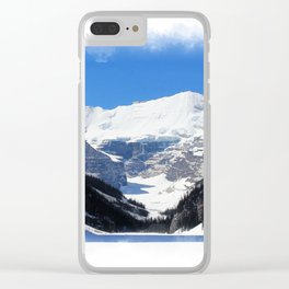 Lake Louise in Banff National Park Clear iPhone Case