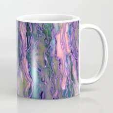 MARBLE IDEA! LAVENDER PINK PEACH Abstract Watercolor Painting Colorful Geological Nature Marbled Art Mug