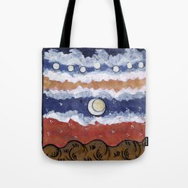 If the blue sky is a fantasy, Tote Bag