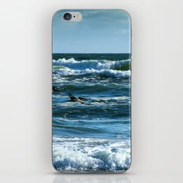 Pelicans Surf Top Flying iPhone Skin