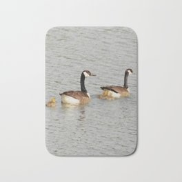 Canadian Geese Family Bath Mat
