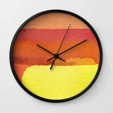 color field one Wall Clock