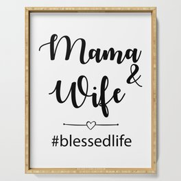 Blessed Life Serving Tray