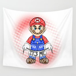 It's ME, Mario !  Wall Tapestry