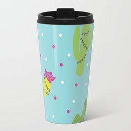 Cactus Pom Pom Travel Mug