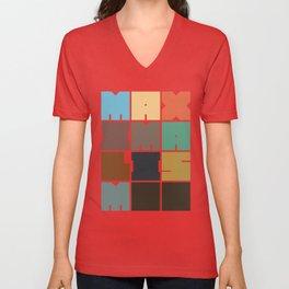 MAXIMALISM.. (Colors) Unisex V-Neck
