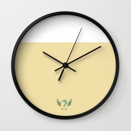 Leafeon Wall Clock