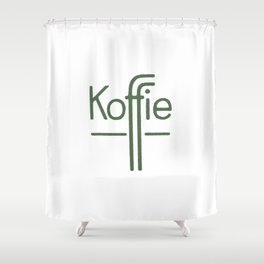 Koffie Shower Curtain