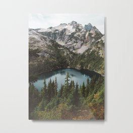Alpine View in the North Cascades Metal Print