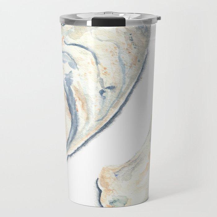 Oyster Shells Travel Mug