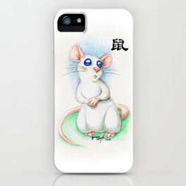 Chinese Zodiac Year of the Rat iPhone Case