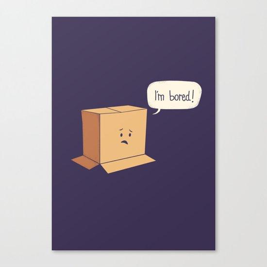 Card-Bored Canvas Print