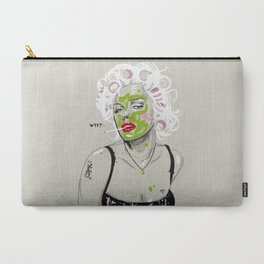 WTF? NATURAL MARILYN Carry-All Pouch