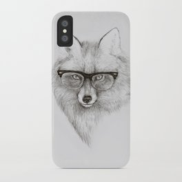Fox Specs iPhone Case