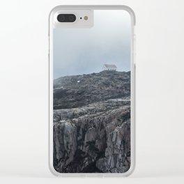 Mountain Fog - Serra da Estrela Clear iPhone Case