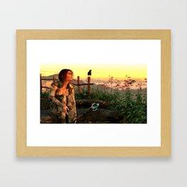 A Welcome Dawn Framed Art Print