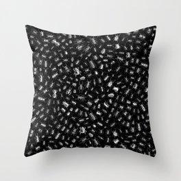 Beetlemania II B&W INVERT Throw Pillow