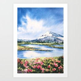 Spring Always Comes Art Print