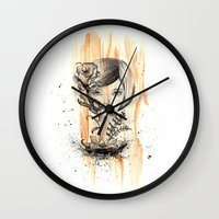doll Wall Clocks featuring doll by cryselypunto