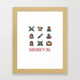 Medieval, Middle Ages Framed Art Print